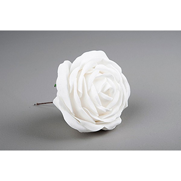 Decor Rose White - 10 cm