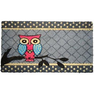 Doormat Owl
