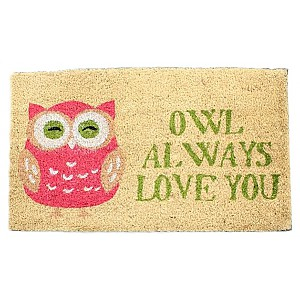 Doormat Owl always love you