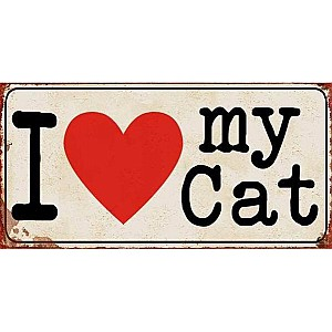 Magnet I love my cat