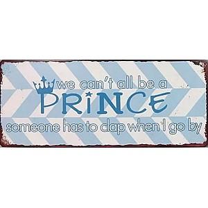 Plåtskylt Prince