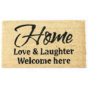 Doormat Home Love & Laughter