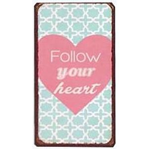 Magnet Folgen Sie Ihrem Herzen