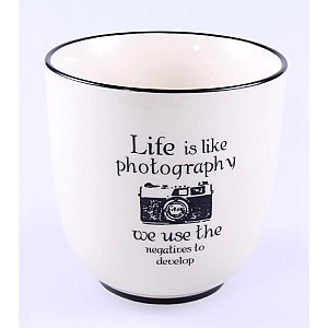 Cup Life is like photography