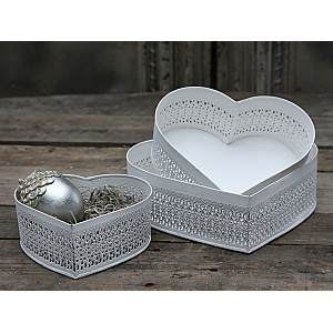 Trays / Dishes Hearts 3 pcs