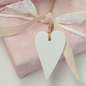 Wooden Hearts 5 pcs