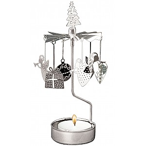 Rotary Candle Holder X-mas