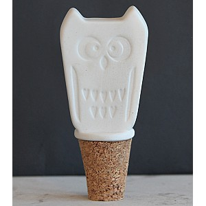 Bottle Stopper Owl