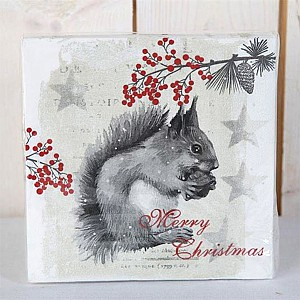 Napkins Squirrel
