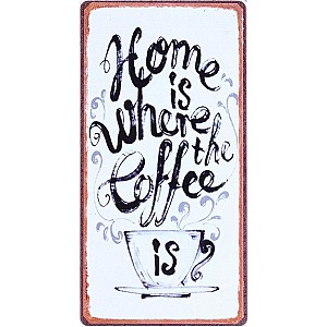 Magnet Home is where the coffee is