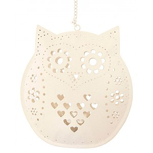 Hanging Owl Tealight Holder