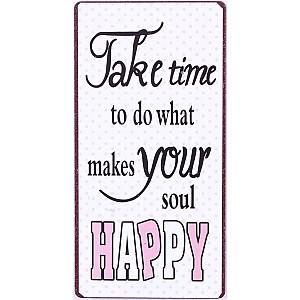 Magnet Was deine Seele glücklich macht