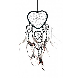 Dreamcatcher Heart with mirrors