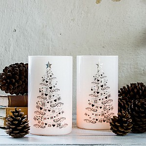 Candle Holder Calendar Trees