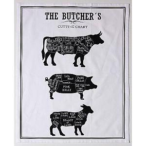 Tea Towel Butcher