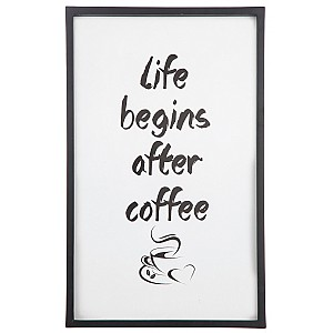 Picture Life begins after coffee
