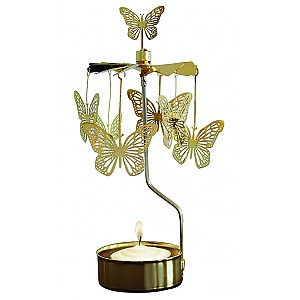 Rotary Candle Holder Butterfly