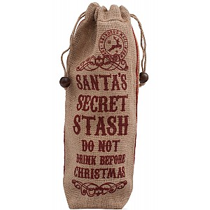 Bottle Bag Santas Secret Stash