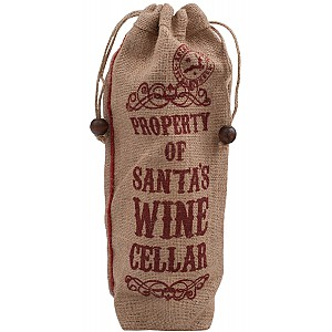 Bottle Bag Santas Wine Cellar