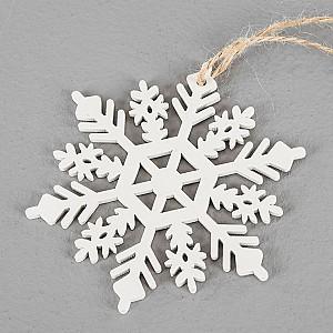 Schneeflockenweiß - 10 cm