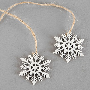 Snowflakes on a string