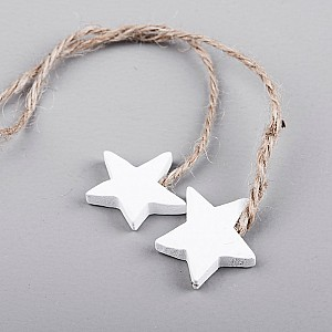 Wooden Stars on a string