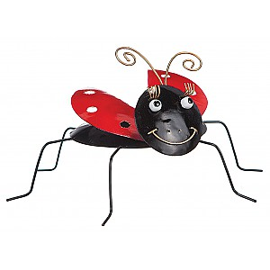Ladybug in wrought iron
