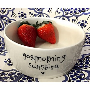 Bowl Goodmorning sunshine