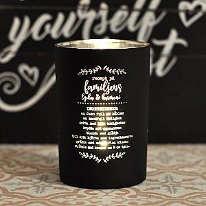 Majas Candle Holder Recept på familjens lycka & harmoni