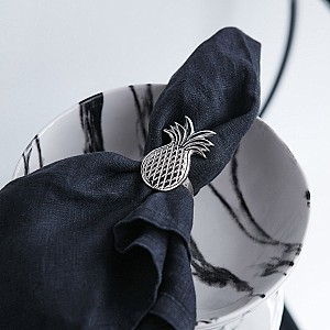 Napkin Ring Tropcial Pineapple
