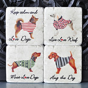 Coasters Dogs