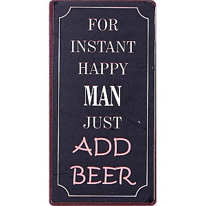 Magnet For instant happy man