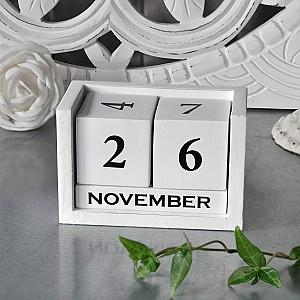 Hölzerner Kalender
