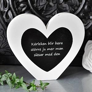 Stående Hjärta Kärleken