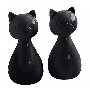 Salz- und Pfefferstreuer Cat