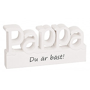Sign Standing letters Pappa