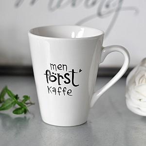 Mugg Men först kaffe