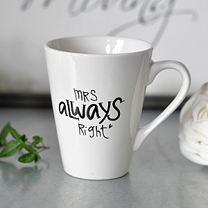 Mug Mrs always right