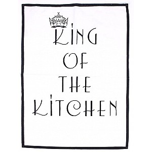 Tea Towel King of the kitchen