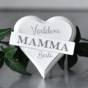 Magnet Heart Världens bästa Mamma