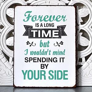 Tin Sign Forever