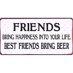 Magnet Best friends bring beer