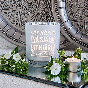 Majas Candle Holder Vår kärlek