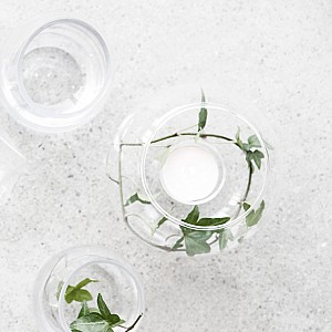 Glass ball Lindhov for table