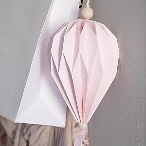 Pappballong Boviken Rosa - Stor