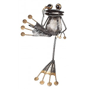 Frog in wrought iron