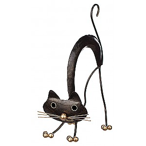 Cat in wrought iron