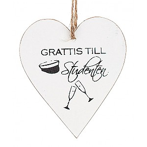 Heart Studenten Champagne glasses