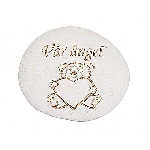 Stein Teddybär Unser Engel