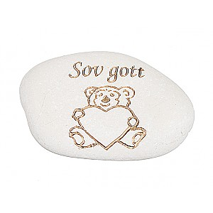 Stone Teddy Bear Sov gott